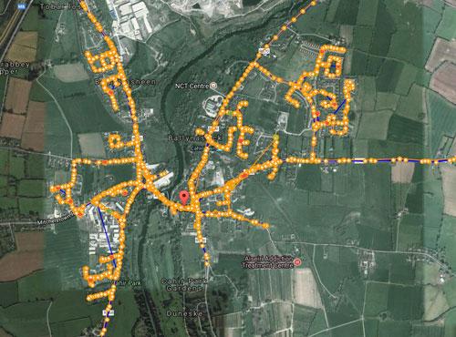 gps tracking for leaflet distribution